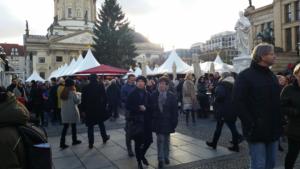 Weihnachtsmarkt na Gendarmenmarkt