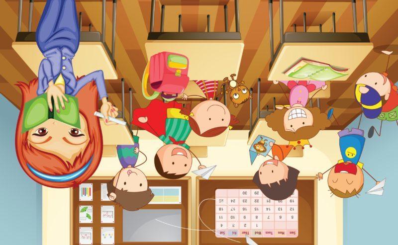 Imagem de Sala de aula invertida?!?