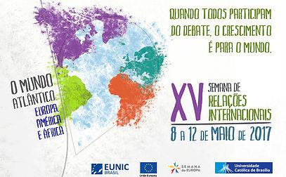 Imagem de XV Semana de Relações Internacionais – Bloco Europa
