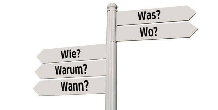 Imagem de Die W-Fragen-Como fazer Perguntas em Alemão