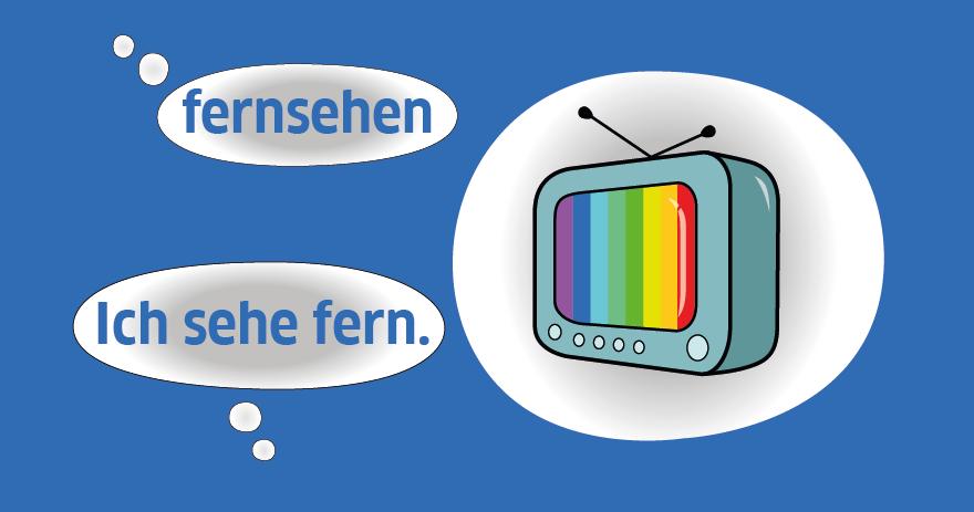 """Imagem de """"Trennbare Verben"""" – Os Verbos Separáveis"""